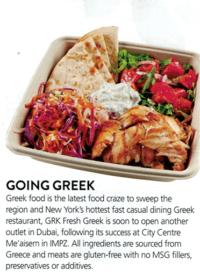 GRK Fresh Greek - Gourmet - July 2016 - Page 8