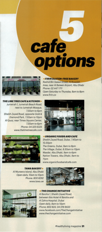 Lime Tree Cafe - The National #healthyliving - 26 May 2016 - Page 21