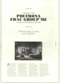 Poltrona Frau Group Coverage - Executive Women - January 2017