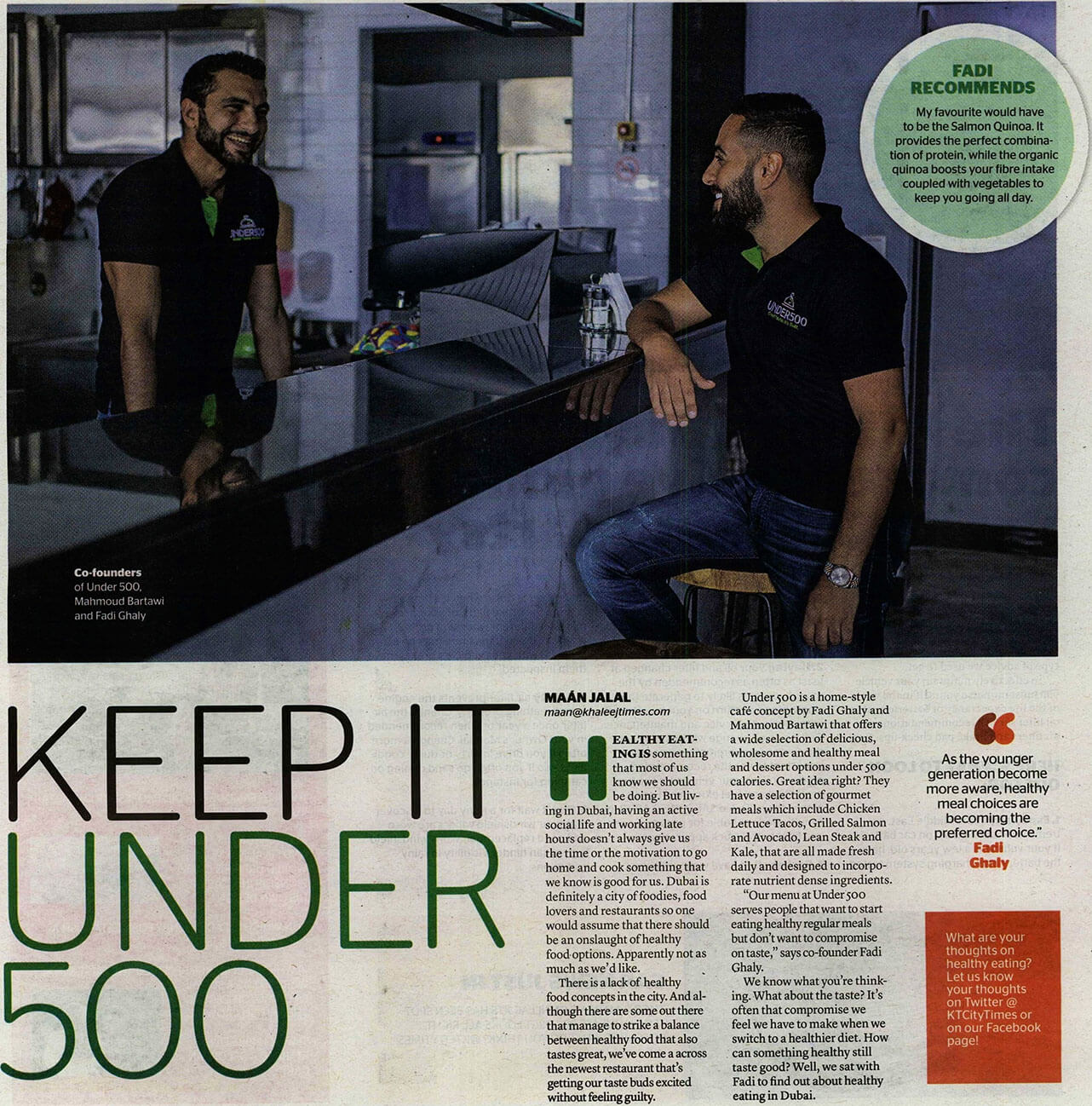 Under 500 - Khaleej Times City Times - 20 June 2016 - Page 6