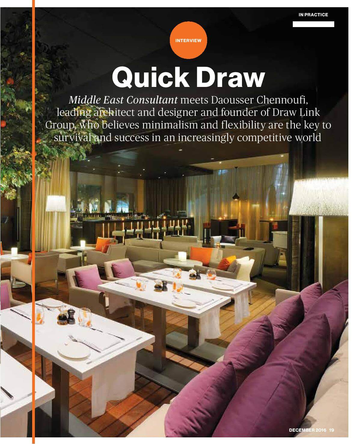 Draw Link Group - Middle East Consultant - December 2016 - Page 19