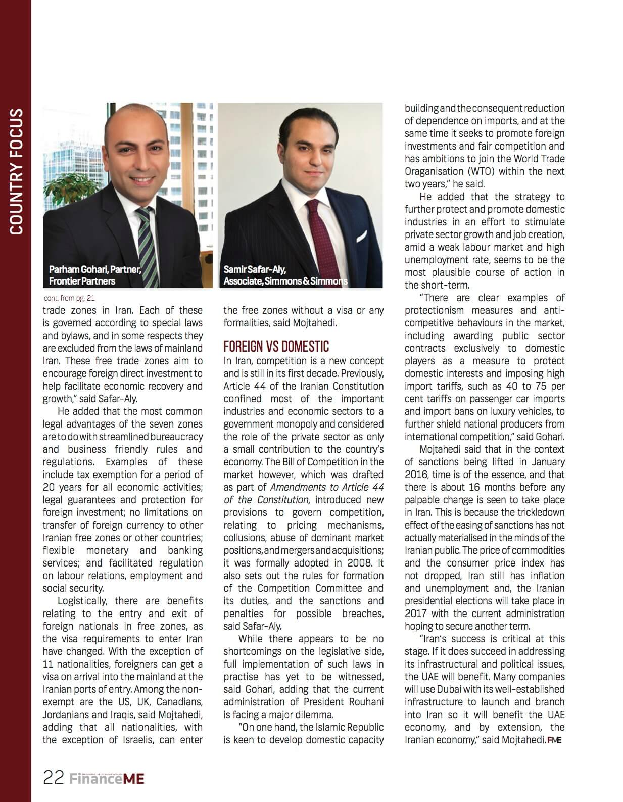 Frontier Partners - Finance ME - Page 22