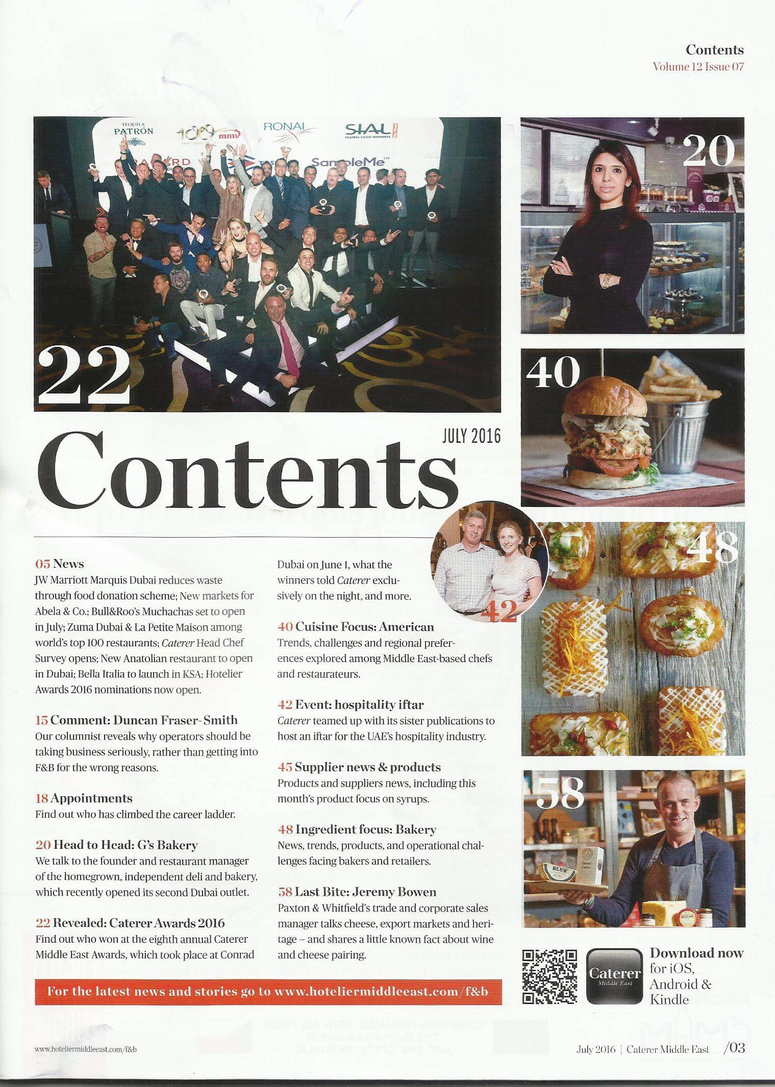 Lime Tree Cafe - Caterer ME - July 2016 - Page 3