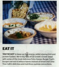 Lime Tree Cafe - Khaleej Times City Times - 4 June 2016 - Page 2