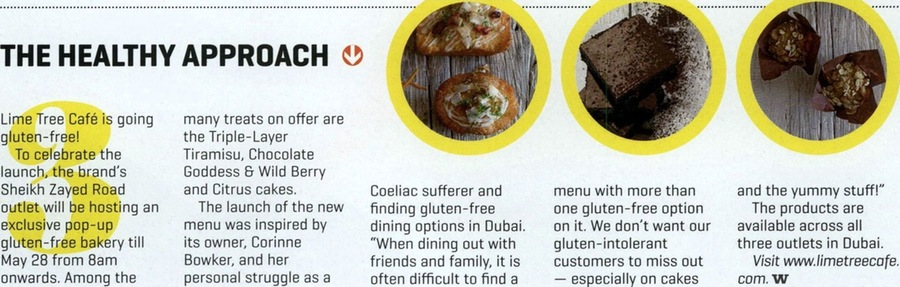 Lime Tree Cafe - Khaleej Times wknd. - 27 May 2016 - Page 10