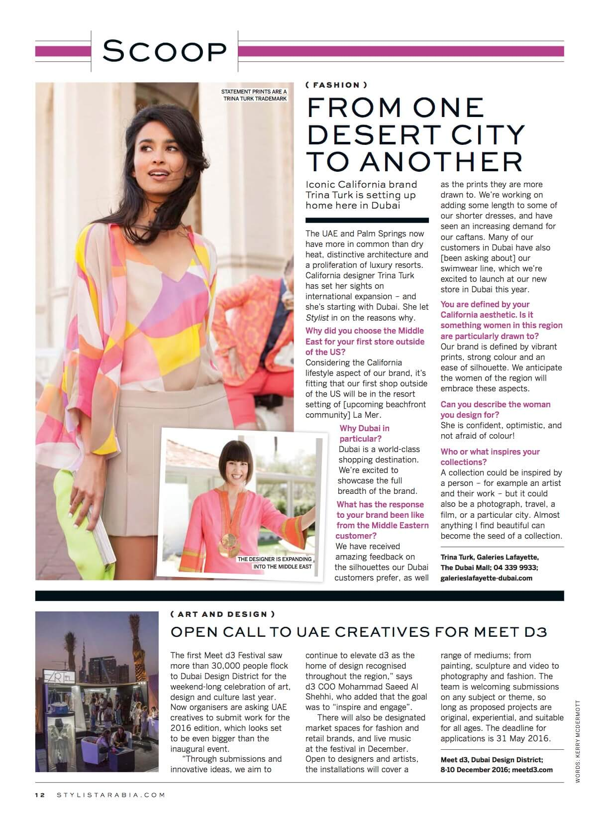 Trina Turk_Stylist Arabia_April 2016_page 12