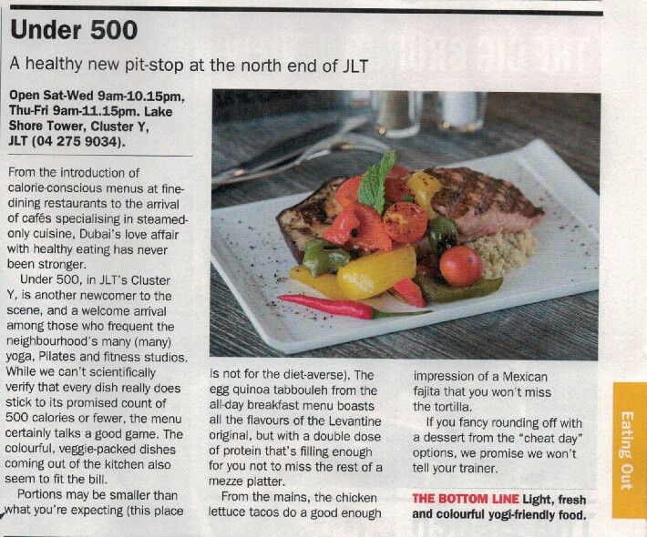 Under500 - Time Out Dubai - 14 September - Page 35
